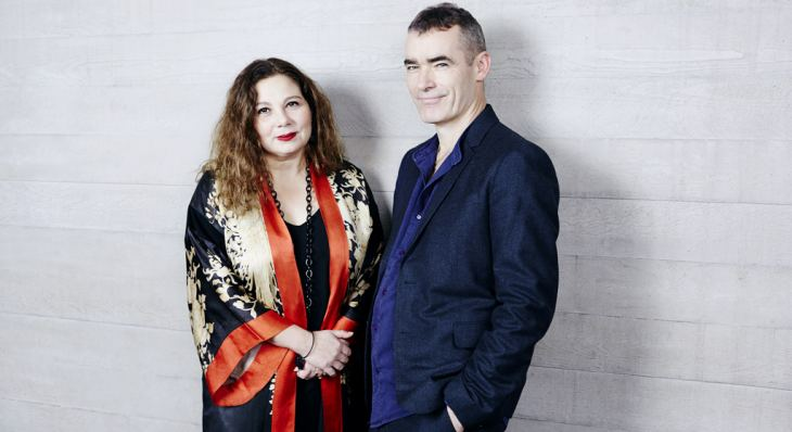 Chief Executive Designate Tessa Ross and Director Designate Rufus Norris